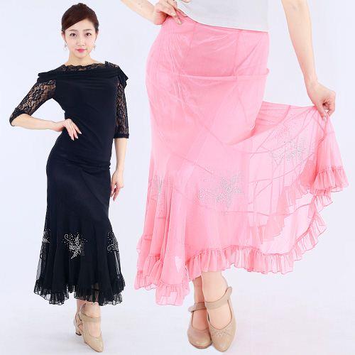 社交ダンス衣装スカート商品番号0480