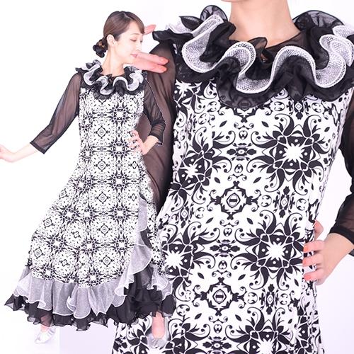 社交ダンスドレス モダン商品番号0087