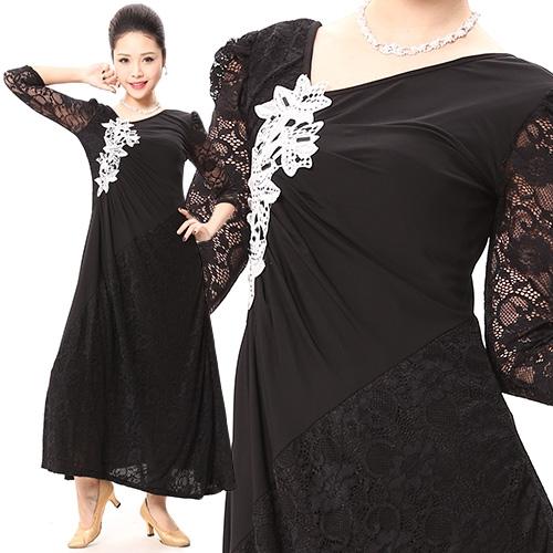 社交ダンス衣装モダンドレス商品番号0024