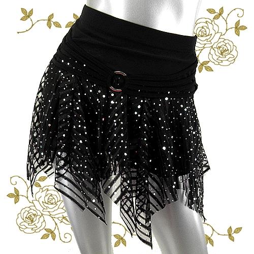 ダンスウェアパレオ巻きスカート商品番号0127