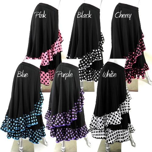 フラメンコ ダンス衣装スカート商品番号0377