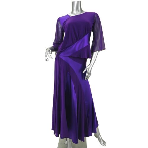 社交ダンス衣装セットアップ商品番号0006