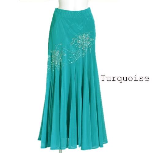 社交ダンス衣装スカート商品番号0305