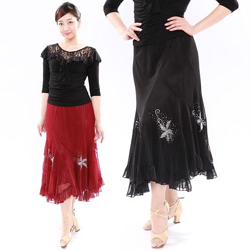 社交ダンス衣装スカート商品番号0527