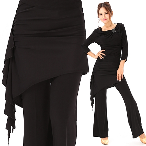 ダンスウェアパレオ巻きスカート商品番号0136