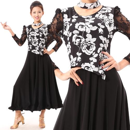 社交ダンス衣装モダンドレス商品番号0129