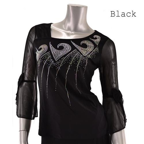 社交ダンス衣装トップス商品番号0350