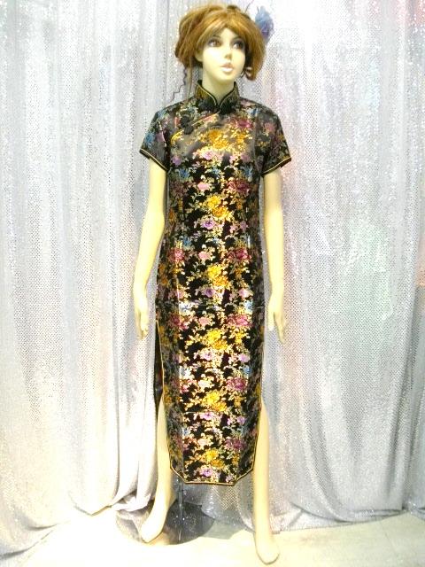 カラオケ衣装 チャイナドレス商品番号0012