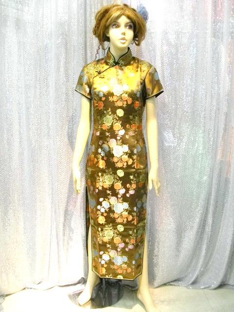カラオケ衣装 チャイナドレス商品番号0016