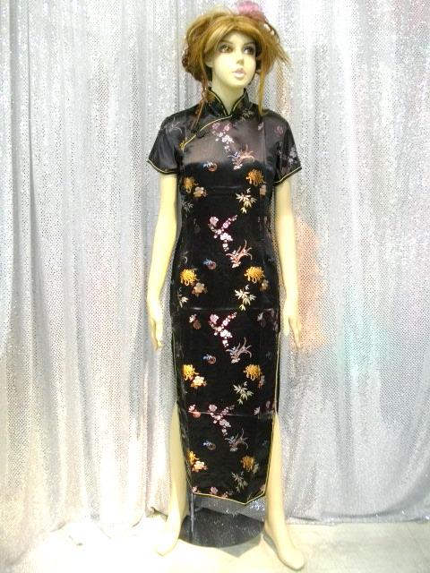 カラオケ衣装 チャイナドレス商品番号0019