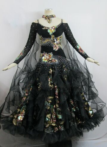 社交ダンス衣装発表会デモドレス商品番号0117
