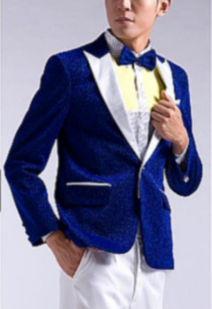 男性カラオケ衣装ジャケット商品番号0019