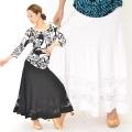 社交ダンス衣装スカート商品番号0476