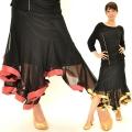 社交ダンス衣装スカート商品番号0231