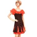 社交ダンス衣装ラテンダンスドレス商品番号0114