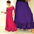 社交ダンス衣装スカート商品番号0526