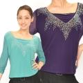 社交ダンス衣装トップス商品番号0623