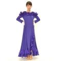 社交ダンス衣装モダンダンスドレス商品番号0072