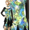 社交ダンス衣装ラテンダンスドレス商品番号0128