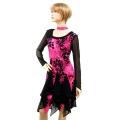 社交ダンス衣装ラテンダンスドレス商品番号0113