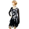 社交ダンス衣装ラテンダンスドレス商品番号0115