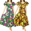 ハワイアン ダンス衣装ワンピース商品番号0020