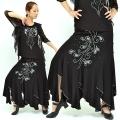 社交ダンス衣装スカート商品番号0382