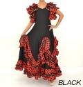 フラメンコ ダンス衣装ドレス商品番号0001