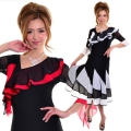 社交ダンス衣装ラテンダンスドレス商品番号0072