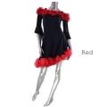 社交ダンス衣装ラテンダンスドレス商品番号0085