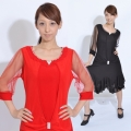 社交ダンス衣装ラテンダンスドレス商品番号0087