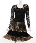 社交ダンス衣装ラテンダンスドレス商品番号0122