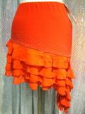 ダンスウェアパレオ巻きスカート商品番号0138