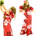 ハワイアン ダンス衣装ワンピース商品番号0018