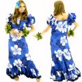 ハワイアン ダンス衣装ワンピース商品番号0017