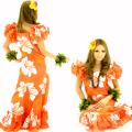 ハワイアン ダンス衣装ワンピース商品番号0016
