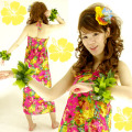ハワイアン ダンス衣装ワンピース商品番号0023