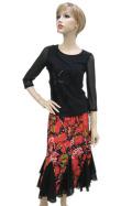 社交ダンス衣装スカート商品番号0413