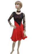 社交ダンス衣装ラテンダンスドレス商品番号0108