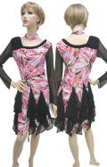 社交ダンス衣装ラテンダンスドレス商品番号0084