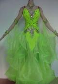 社交ダンス衣装オーダーメイド競技用デモドレス商品番号0056