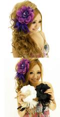 髪飾り・ヘアーコーム商品番号0035