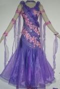 社交ダンス衣装オーダーメイド競技用デモドレス商品番号0050