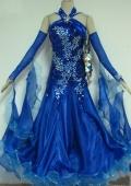 社交ダンス衣装オーダーメイド競技用デモドレス商品番号0037