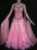 社交ダンス衣装オーダーメイド競技用デモドレス商品番号0032
