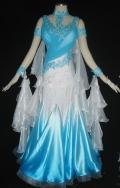 社交ダンス衣装オーダーメイド競技用デモドレス商品番号0033