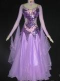 社交ダンス衣装発表会デモドレス商品番号0058
