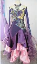 社交ダンス衣装オーダーメイド競技用デモドレス商品番号0059