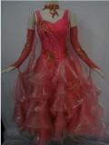 社交ダンス衣装オーダーメイド競技用デモドレス商品番号0060