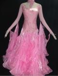 社交ダンス衣装オーダーメイド競技用デモドレス商品番号0053